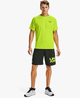 Shorts UA Tech™ Wordmark para Hombre