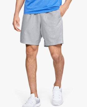 Men's UA Woven Graphic Emboss Shorts