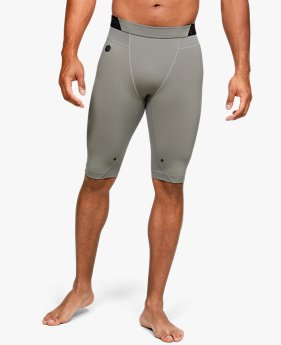 Short UA RUSH™ HeatGear® Long Compression da uomo