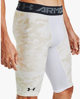 Herenshorts HeatGear® Armour Printed - extra lang