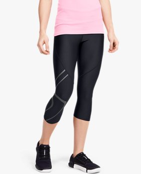 Women's HeatGear® Armour Graphic Capri