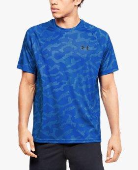 Men's UA Velocity Printed Short Sleeve