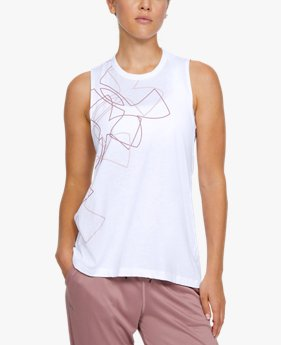 Regata de Treino Feminina Under Armour Live Swing Back 6m Graphic