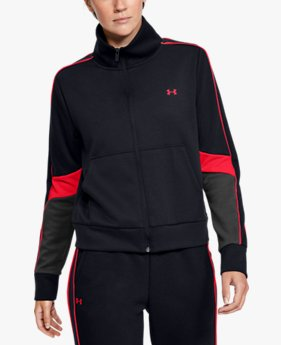 Women's UA Double Knit Full Zip
