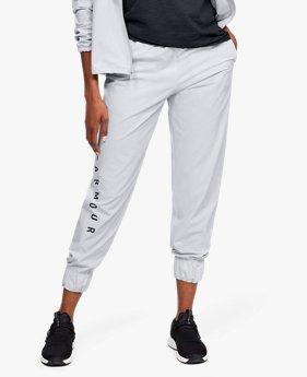 UAウーブン ブランド パンツ(トレーニング/WOMEN)
