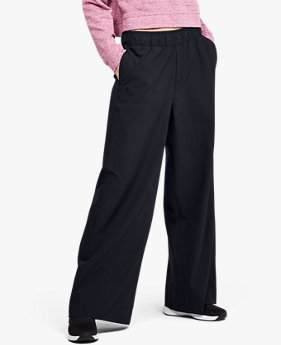 Women's UA Woven Wide Leg Pants