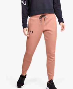 Pantalones de Entrenamiento UA Rival Fleece Fashion para Mujer