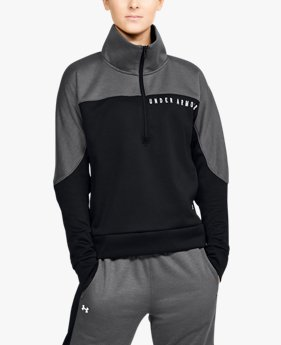 Women's UA RECOVER™ Knit ½ Zip