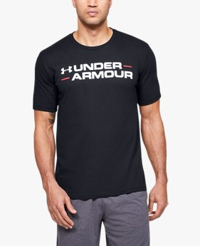 Men's UA Branded Wordmark Graphic Short Sleeve