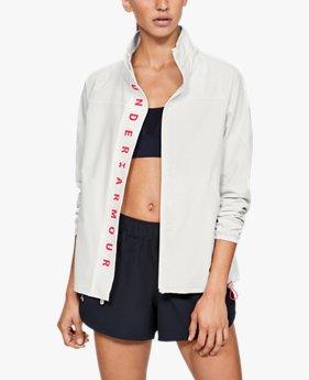 Women's UA Recover Woven Full Zip