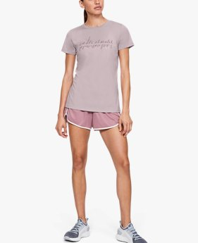 Women's UA Tech™ Branded Fit Kit Short Sleeve Crew