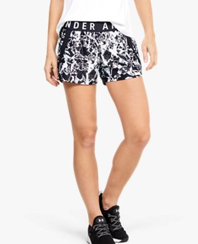Shorts UA Play Up 3.0 Print para Mujer