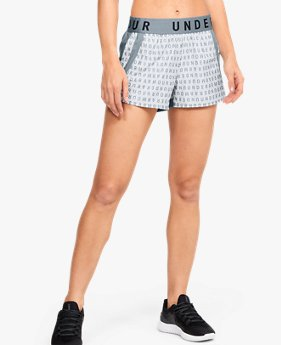 Women's UA Play Up 3.0 Print Shorts