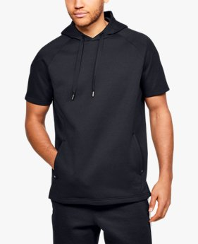 Men's UA RECOVER™ Fleece Short Sleeve Hoodie