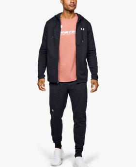 Men's UA Double Knit Full-Zip Hoodie