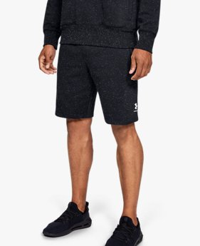 Shorts UA Speckled Fleece para Hombre