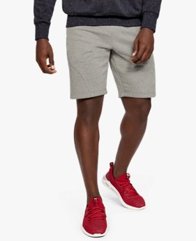 Short UA Speckled Fleece da uomo