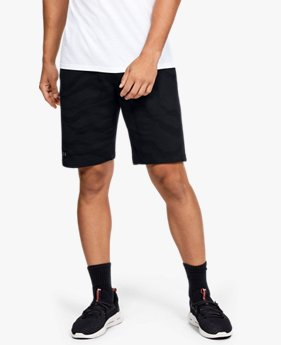 Men's UA Speckled Fleece Printed Shorts