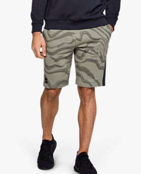 Shorts UA Speckled Fleece Printed para Hombre