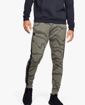Pantalones UA Rival Fleece Printed para Hombre