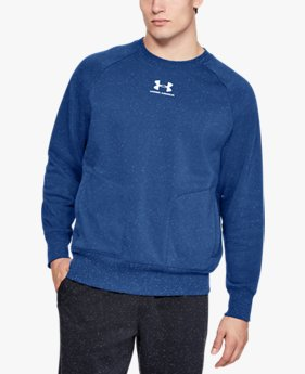 Men's UA Speckled Fleece Crew