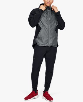 Veste UA Stretch Woven Full Zip pour homme
