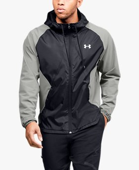 Men's UA Stretch Woven Full Zip Jacket
