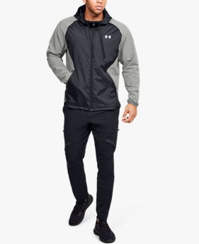 Giacca UA Stretch Woven Full Zip da uomo