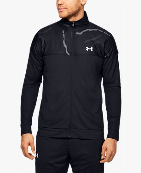 Men's UA Sportstyle Pique Track Printed Jacket