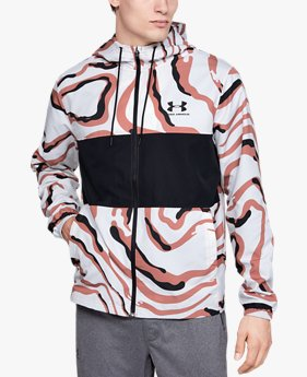 Men's UA Sportstyle Wind Printed Jacket