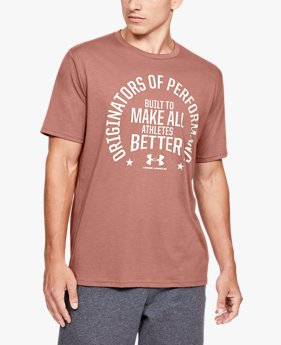 Maglia a manica corta UA Make All Athletes Better da uomo