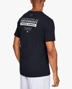 Men's UA Bar Originators Of Performance Short Sleeve