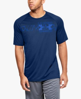 Men's UA Tech™ 2.0 Graphic Short Sleeve