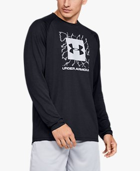 Men's UA Tech™ 2.0 Graphic Long Sleeve