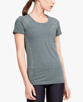 Women's UA Seamless Melange Short Sleeve