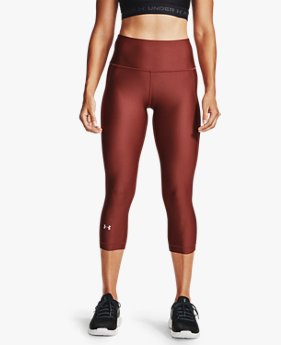 Women's HeatGear® Armour Hi-Rise Capri