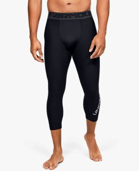 Herren ¾-Leggings HeatGear®, mit Armour-Aufdruck