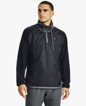 Men's UA Stretch Woven ½ Zip Jacket