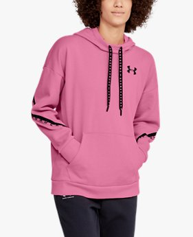 Women's UA Taped Fleece Hoodie