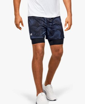 Short 2 en 1 UA Speedpocket Weightless pour homme