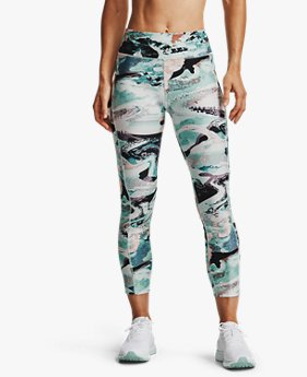 Dameslegging HeatGear® Armour Printed Ankle Crop
