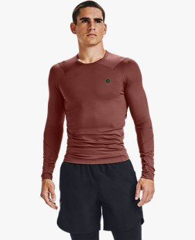 Men's UA RUSH™ HeatGear® Compression Long Sleeve
