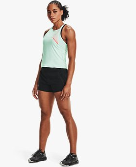 Damen UA Qualifier Iso-Chill Tanktop