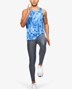 Men's UA Qualifier Iso-Chill Printed Singlet