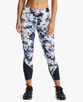 Dameslegging UA Fly Fast Printed Crop
