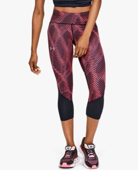 Women's UA Fly Fast Printed Crop