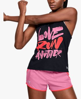 Polera sin Mangas UA Love Run Another para Mujer