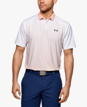 Polo UA Iso-Chill Gradient pour homme