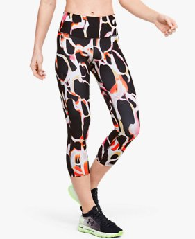 Women's UA RUSH™ Electric Printed Crop