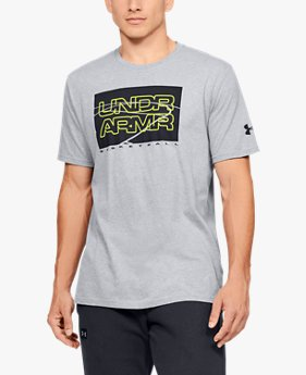 Men's UA UNDR ARMR Court Graphic T-Shirt